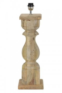 Lampefot cadore H54cm Wood Natural