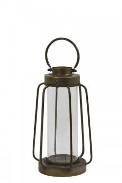 Lekter lanterne 22x37 Bronse