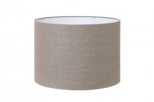 Stor lampeskjerm Lino 70x70x45 Mørk lin