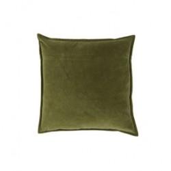 Velourpue Melissa grønn 50x50