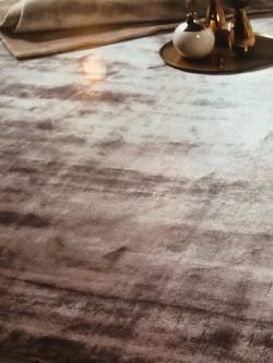 Bambus gulvteppe 160x230 LYSGRÅ
