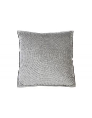 Pute Circle velvet grey 60x60