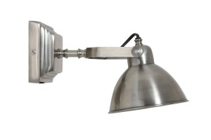 Vegglampe H25cm Silver
