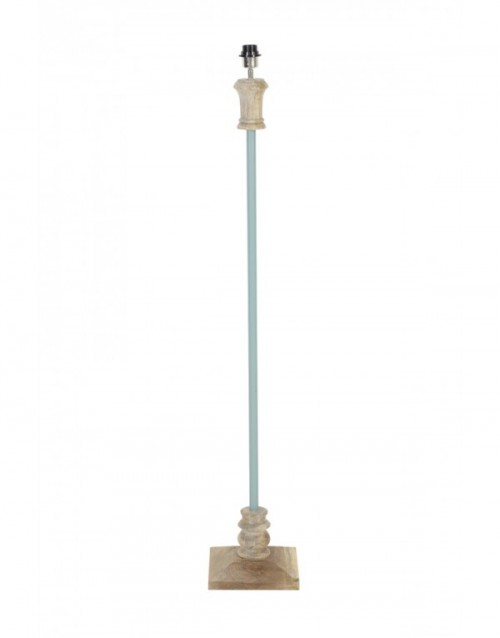 Gulvlampe EGMONT wood grey