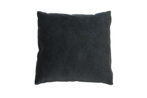 Velourpute 50x50 Mørkegrå